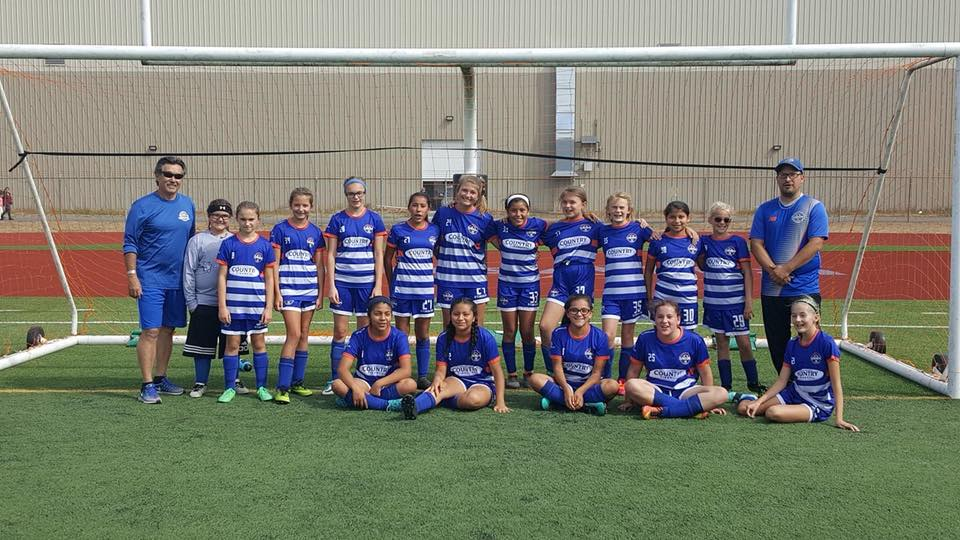 Twin City Union FC Girls U13 Lock up a league title over the weekend